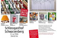 Kunst(handwerker)markt auf Schloss Schwarzenberg bei Scheinfeld