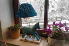 ein blaues Pferd - das Gelichter in Kettenbach :-)