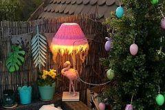 Flamingo auf Maggies Balkon :-))